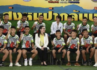 Thailand hits out at foreign media for interviewing cave boys