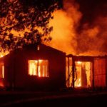 California forest blaze kills second firefighter