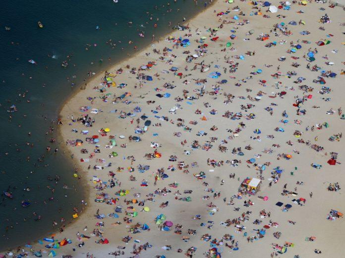 human beach