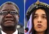 Denis Mukwege and Nadia Murad win Nobel Peace Prize for combating sexual violence