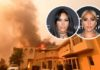 Celebrities Evacuate Their Homes as Wildfires Spread in Southern California