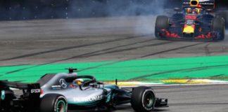 Max Verstappen rages against Esteban Ocon after collision hands Brazil win to Lewis Hamilton