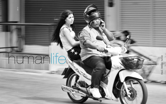 Thai taxi-bike