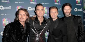 Robbie Williams could reunite with Take That for next year's anniversary tour