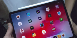 Coming face to face with the upgraded and thinner iPad Pro