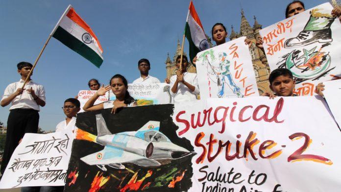India strikes pakistan