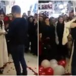 Iranian couple arrested after marriage proposal goes viral
