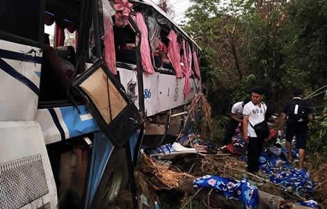 Thai bad driving