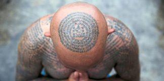 Thais flock to sacred tattoo festival