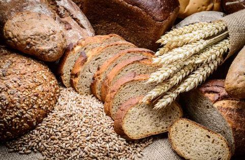Wheat grain bread...