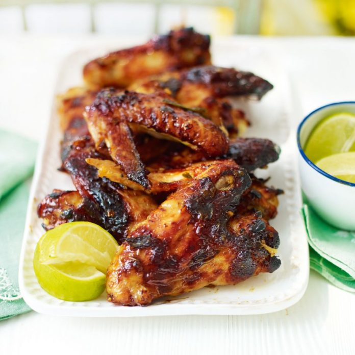 sticky wings