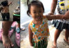Family to visit Buddhist shrine as little Thai girl miraculously escapes playing with a cobra snake