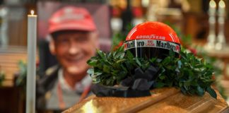 Niki Lauda funeral: Stars of track and screen bid farewell to F1 legend