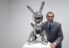 Koons's 'Rabbit' fetches record 91 million dollars at New York auction