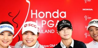 1.32 million Baht raised from Honda LPGA 2019  donated to Siriraj Foundation