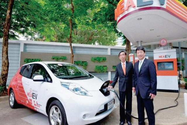 electric cars in thailand