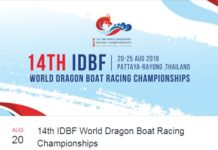 International Dragon Boat – Pattaya 20 – 25 August