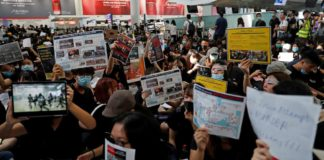 Hong Kong airport authority cancels flights over protests