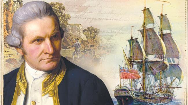 Captain Cook's 'Endeavour'