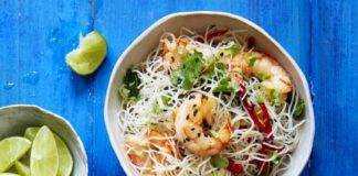 Thai Prawn Salad with Herbs Recipe