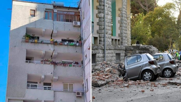 earthquake in Albania