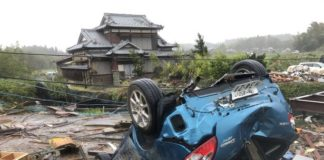 Death Toll from Typhoon Hagibis Rises to 56 in Japan