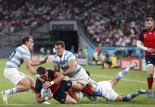 Rugby World Cup: England into quarter-finals