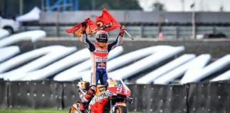 Marc Marquez seals MotoGP title with Thailand win