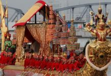 Thai royal barge procession put off 'due to water and weather conditions'