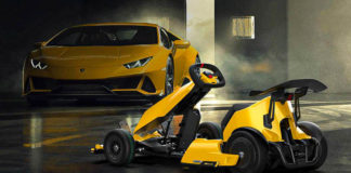 Lamborghini Teams Up With Go-Kart Company To Produce Mini-Huracán