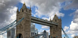 London's Tower Bridge Is Stuck Open