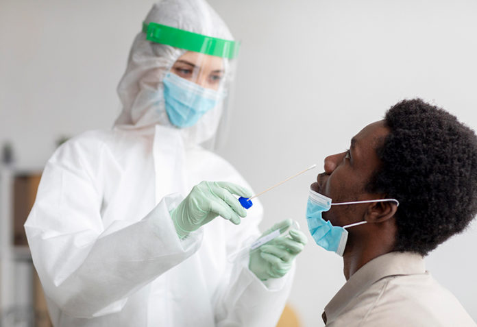 coronavirus-test-sample