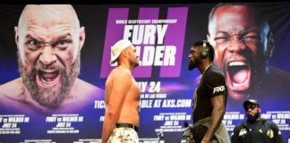 Tyson Fury vs Deontay Wilder rescheduled for 9 October following positive Covid test
